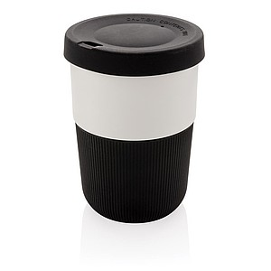 PLA cup coffee to go 380ml,black