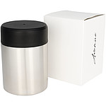 Lani candle with lid black