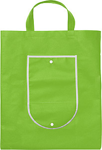 Foldable shopping bagLight green
