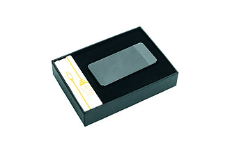 PIERRE CARDIN ELECTRIC, re-chargable electric lighter, gunmetal