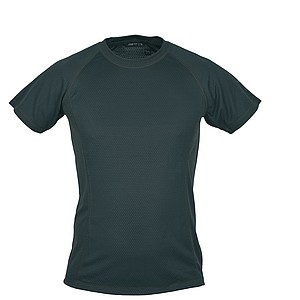 SCHWARZWOLF PASSAT MEN functional T-shirt, black seams, L