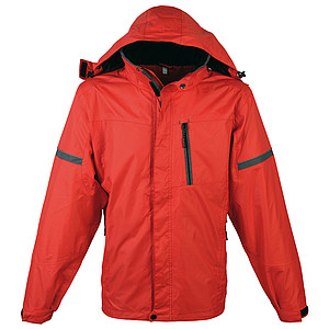 SCHWARZWOLF BONETE Autumn jacket men red M