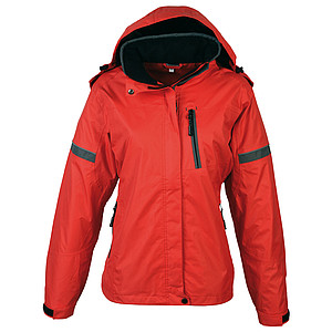 SCHWARZWOLF BONETE Autumn jacket women red M