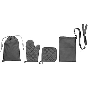 Dila 3-piece kitchen set in a pouch
